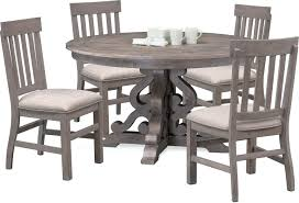 gray dining table with bench gray round dining table round dining table and 4 side chairs gray