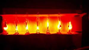 flicker flame string lights halloween flicker flame light string 7 bulbs youtube