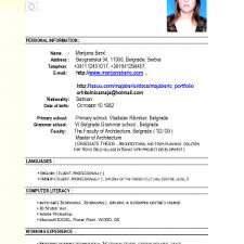 Resume Job Application Examples Resumes For Jobs Resume Example And Free Resume Maker