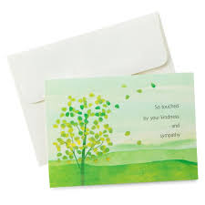 thank you for sympathy card sympathy thank you notes pack of 10 note cards hallmark