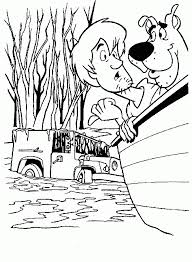 halloween scooby doo coloring sheets free hallowen coloring