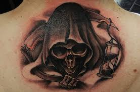 37 grim reaper tattoos with and mysterious meanings tattoos win