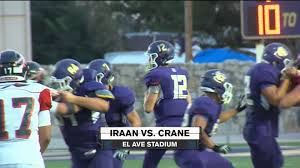 week 1 iraan vs crane