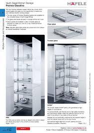 hafele pantry unit kitchen appliances and pantry premea glassline hafele pertaining to measurements 909 x 1286