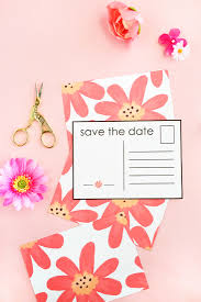 make your own save the date diy floral save the date postcardsmaritza