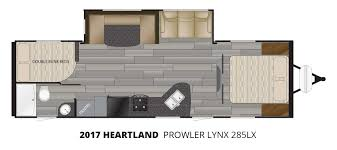2017 heartland prowler lynx 285lx travel trailer u2013 stock pl17008