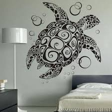 sea turtle wall art stickers sea turtle wall decor ideas