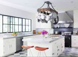 kitchen island with hanging pot rack fascinating kitchen lighted pot rack pan ceiling home depot