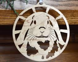 wood ornament etsy