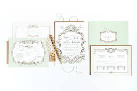 ashley scott u0027s romantic shabby chic wedding invitations