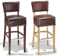 Wooden Breakfast Bar Stool Wooden Padded Kitchen Breakfast Bar Stools Wooden Frame