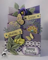25 best ideas about cascading card on tri fold cards