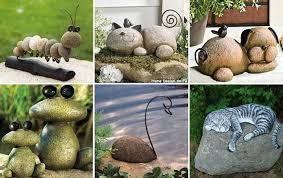 Garden Stones And Rocks Terrace And Garden Animal Diy Garden Rock And Stones 15 Easy