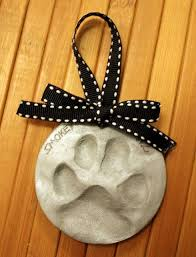 paw print ornament easy diy pet paws