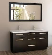 60 In Bathroom Vanity by Adorna 60 Inch Double Sink Bathroom Vanity Set Espresso Finish