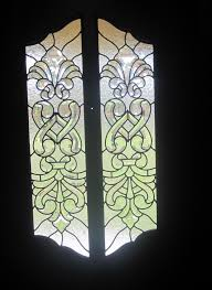 Stained Glass Door Panels by Textured And Beveled Glass Door Panels