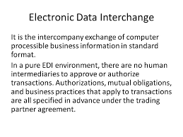 auditing electronic data interchange ppt download