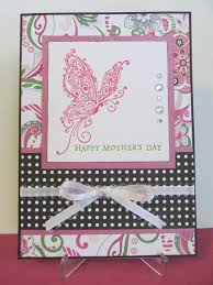 savvy handmade cards mother u0027s day butterfly card