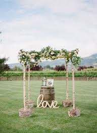 wedding arches rustic 50 beautiful rustic wedding ideas