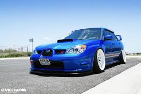 subaru stanced blue meanwhile in the middle of nowhere u2026literally stancenation