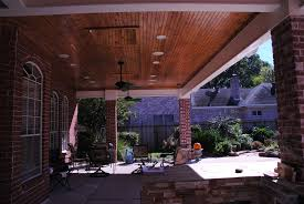 Patio Cover Lights Roofed Patio Cover With Recessed Can Lights 2 Skylights And 2