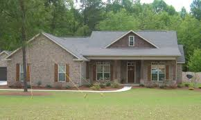 Brick House Plans Home Design Brick Craftsman Style Ranch Homes Wainscoting House