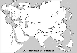 physical map of asia blank outline physical map of eurasia