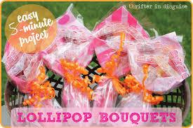 lollipop bouquet a thrifter in disguise diy kids lollipop bouquets