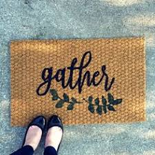 thanksgiving doormat home sweet home doormat theres no place like home with this laurel