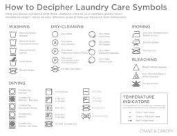 How Do You Wash A Duvet Laundry Symbols What Do They Mean Crane U0026 Canopy