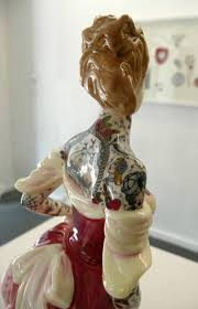 tattooed porcelain figurines by jessica harrison flash opens at