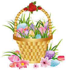 easter basket bunny png transparent png images pluspng