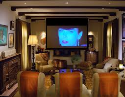 Home Theater Design Los Angeles Baroque Flat Screen Tv Stands Method Los Angeles Mediterranean