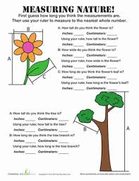 estimating measurements worksheet education com