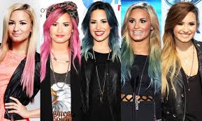 demi lovato hair extensions demi lovato releases colorful hair extension line check out