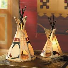 American Indian Decorations Home Teepee Lamp Crowsnesttrading Com For The Home Pinterest