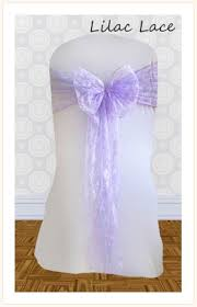 lace chair sashes chair sash hire for weddings