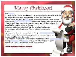 personalized letter from santa free personalized letter from santa printables from