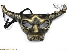 ox mask ox bull masquerade cow mask animal haunted house party
