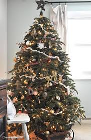 White And Brown Christmas Tree Decorations by 40 Pretty Rustic Christmas Tree Decorating Ideas For Holiday Home