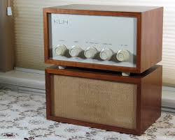 klh home theater system rare klh model thirteen with original speaker via etsy audio