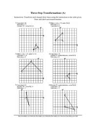 brilliant ideas of dilation math worksheets in example