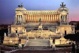 wedding cake building rome the largest statue in rome is a and