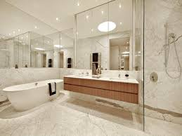 Bathroom Design With Builtin Shelving Using Glass Bathroom - Glass bathroom designs