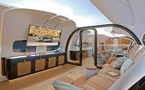 Private Jet Interiors This Is What It U0027s Like Inside A Private Jet Designed For