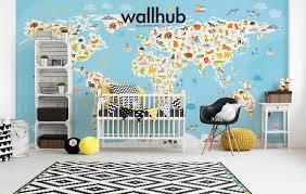 world map mural wallhub mural wallpaper world map 00 5