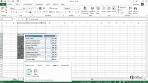 Aa Step 4 Worksheet Microsoft Excel 2013 Create Your First Excel 2013 Workbook