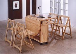 Fair  Folding Kitchen Tables For Small Spaces Inspiration - Foldable kitchen table