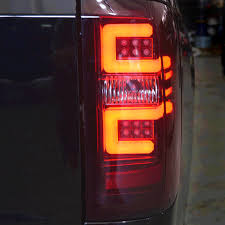 2011 chevy silverado smoked tail lights recon red smoke led tail lights 2014 2017 chevy silverado single