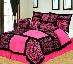 Giraffe Bedding Set Pink Bed Set Smartwedding Co